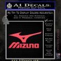 Mizuno Golf Decal Sticker DS Pink Vinyl Emblem 120x120