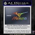 Mizuno Golf Decal Sticker DS Sparkle Glitter Vinyl 120x120