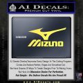 Mizuno Golf Decal Sticker DS Yelllow Vinyl 120x120