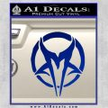 Mudvayne Logo Band Decal Sticker Blue Vinyl 120x120