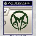 Mudvayne Logo Band Decal Sticker Dark Green Vinyl 120x120