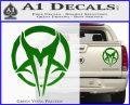 Mudvayne Logo Band Decal Sticker Green Vinyl 120x97
