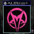 Mudvayne Logo Band Decal Sticker Hot Pink Vinyl 120x120