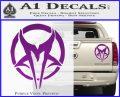 Mudvayne Logo Band Decal Sticker Purple Vinyl 120x97
