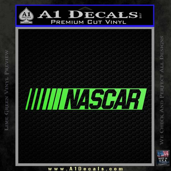 Nascar Logo Decal Sticker Dw 187 A1 Decals