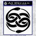 Neverending Story Auryn Decal Sticker Black Logo Emblem 120x120
