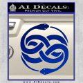 Neverending Story Auryn Decal Sticker Blue Vinyl 120x120
