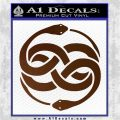 Neverending Story Auryn Decal Sticker Brown Vinyl 120x120