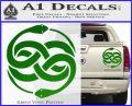 Neverending Story Auryn Decal Sticker Green Vinyl 120x97