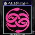 Neverending Story Auryn Decal Sticker Hot Pink Vinyl 120x120