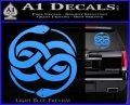 Neverending Story Auryn Decal Sticker Light Blue Vinyl 120x97
