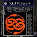 Neverending Story Auryn Decal Sticker Orange Vinyl Emblem 120x120