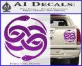 Neverending Story Auryn Decal Sticker Purple Vinyl 120x97