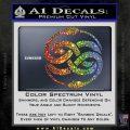Neverending Story Auryn Decal Sticker Sparkle Glitter Vinyl 120x120