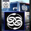 Neverending Story Auryn Decal Sticker White Emblem 120x120