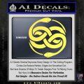 Neverending Story Auryn Decal Sticker Yelllow Vinyl 120x120