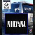 Nirvana Decal Sticker TXT White Emblem 120x120