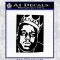 Notorious Big Biggie Poster Decal Sticker Black Vinyl 120x120