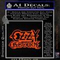 Ozzy OzbourneTXTS Decal Sticker Orange Vinyl Emblem 120x120