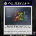 Ozzy OzbourneTXTS Decal Sticker Sparkle Glitter Vinyl 120x120
