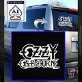 Ozzy OzbourneTXTS Decal Sticker White Emblem 120x120