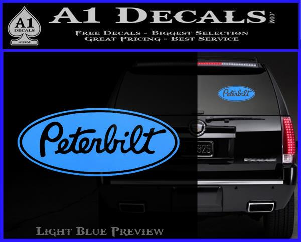 Peterbilt Logo Decal Sticker A Decals - Best car sticker logo