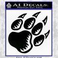 Paw Shadow Decal Sticker Black Logo Emblem 120x120