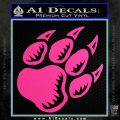 Paw Shadow Decal Sticker Hot Pink Vinyl 120x120