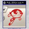 Poweruff Girl Decal Sticker Buttercup Red Vinyl 120x120