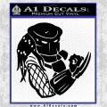 Predator Head Profile DLB Decal Sticker Black Logo Emblem 120x120