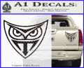 Replicant Blade Runner Decal Sticker Carbon Fiber Black 120x97