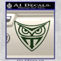 Replicant Blade Runner Decal Sticker Dark Green Vinyl 120x120