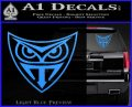 Replicant Blade Runner Decal Sticker Light Blue Vinyl 120x97