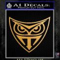 Replicant Blade Runner Decal Sticker Metallic Gold Vinyl 120x120