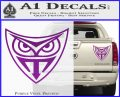 Replicant Blade Runner Decal Sticker Purple Vinyl 120x97