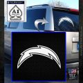 San Diego Chargers NFL Bolt Decal Sticker00 White Emblem 120x120