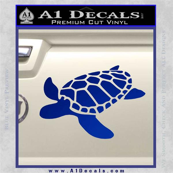 Sea Turtle Decal Sticker V34 187 A1 Decals