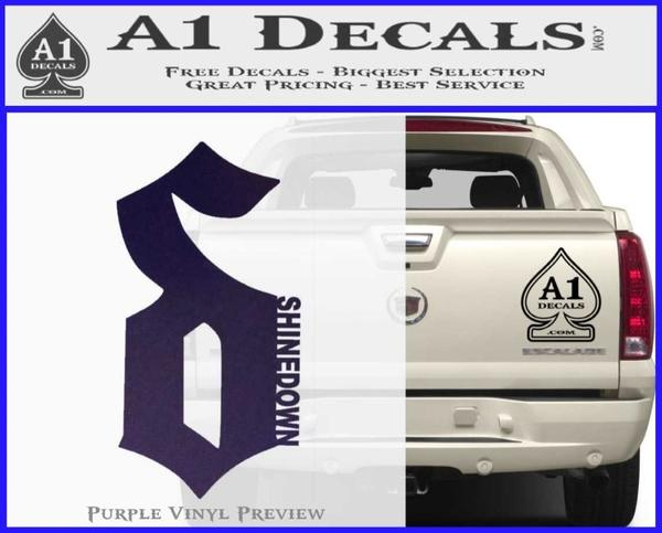 a51ab36839aa Shinedown Band D1 Decal Sticker » A1 Decals