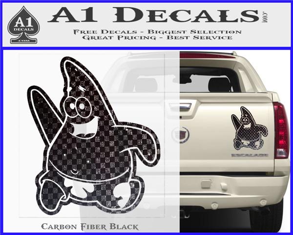Spongebob Patrick Decal Sticker  A Decals - Spongebob car decals