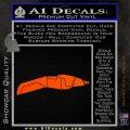 Star Trek The Next Generation Phaser Decal Sticker Orange Vinyl Emblem 120x120