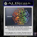 Tactical Medic EMT Decal Sticker Spartan Sparkle Glitter Vinyl 120x120