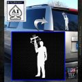 The Walking Dead Darryl Decal Sticker White Emblem 120x120