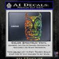 Tiki Decal Sticker D2 Spectrum Vinyl Black 120x120