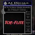 Top Flite Golf Decal Sticker Pink Vinyl Emblem 120x120