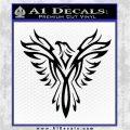 Tribal Eagle Decal Sticker D4 Black Logo Emblem 120x120