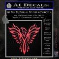 Tribal Eagle Decal Sticker D4 Pink Vinyl Emblem 120x120
