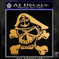 US Navy Chief N1 Decal Sticker Metallic Gold Vinyl 120x120