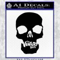 Venture Brothers Skull Decal Sticker Black Vinyl 120x120