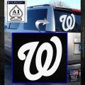 Washington Nationals MLB Logo Decal Sticker White Emblem 120x120