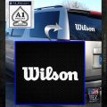 Wilson Sports Decal Sticker White Emblem 120x120